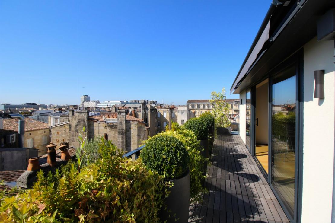 Appartement terrasse Bordeaux Triangle2