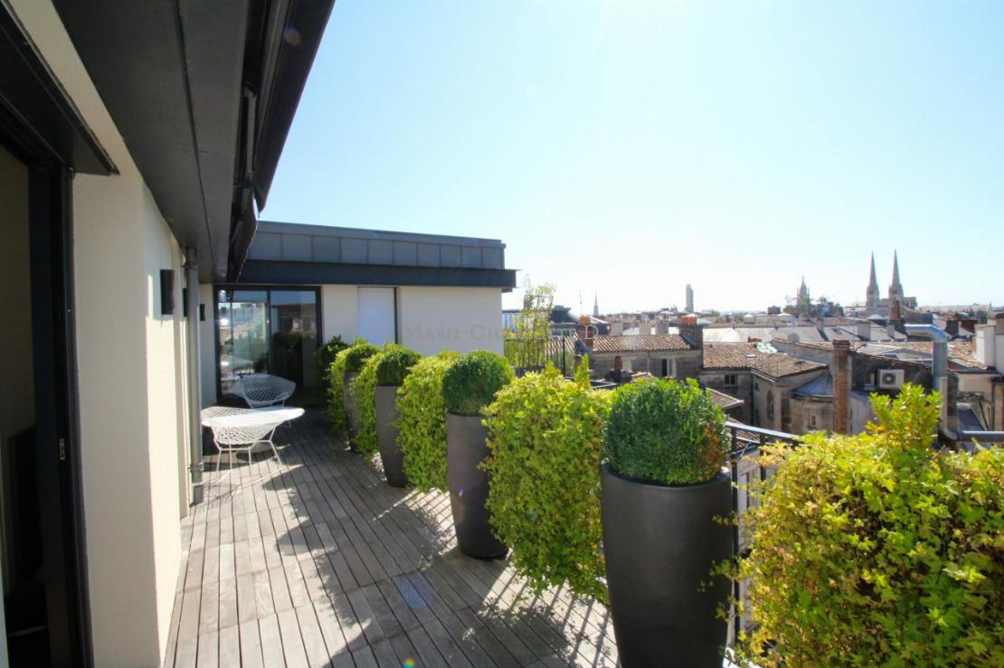 Appartement terrasse Bordeaux Triangle4