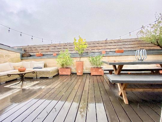 Appartement Terrasse Bordeaux Chartron 7